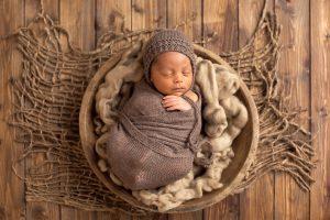 fotografie di bambino nei primi giorni di vita