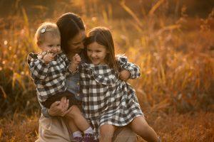 mamme e figlia servizio fotografico