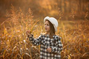 bambina servizio fotografico
