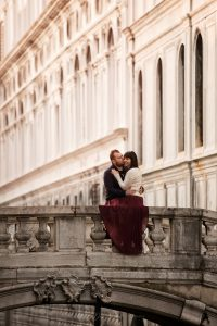 servizio fotografico di coppia pre matrimonio a venezia