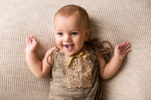bambina 4 mesi servizio fotografico