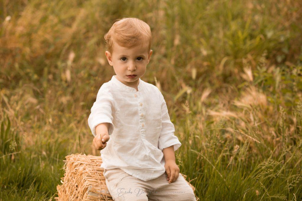bambino al parco fotografo di milano