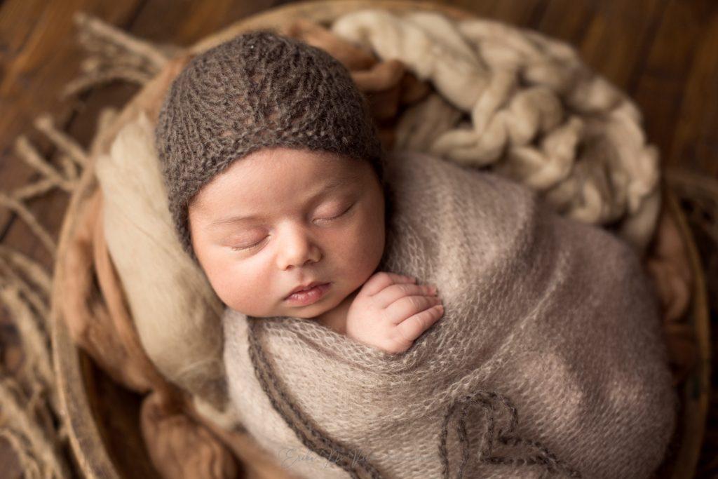 studio fotografico realizza ritratti di neonati a milano