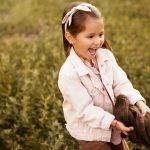 fotografo di bambini al parco