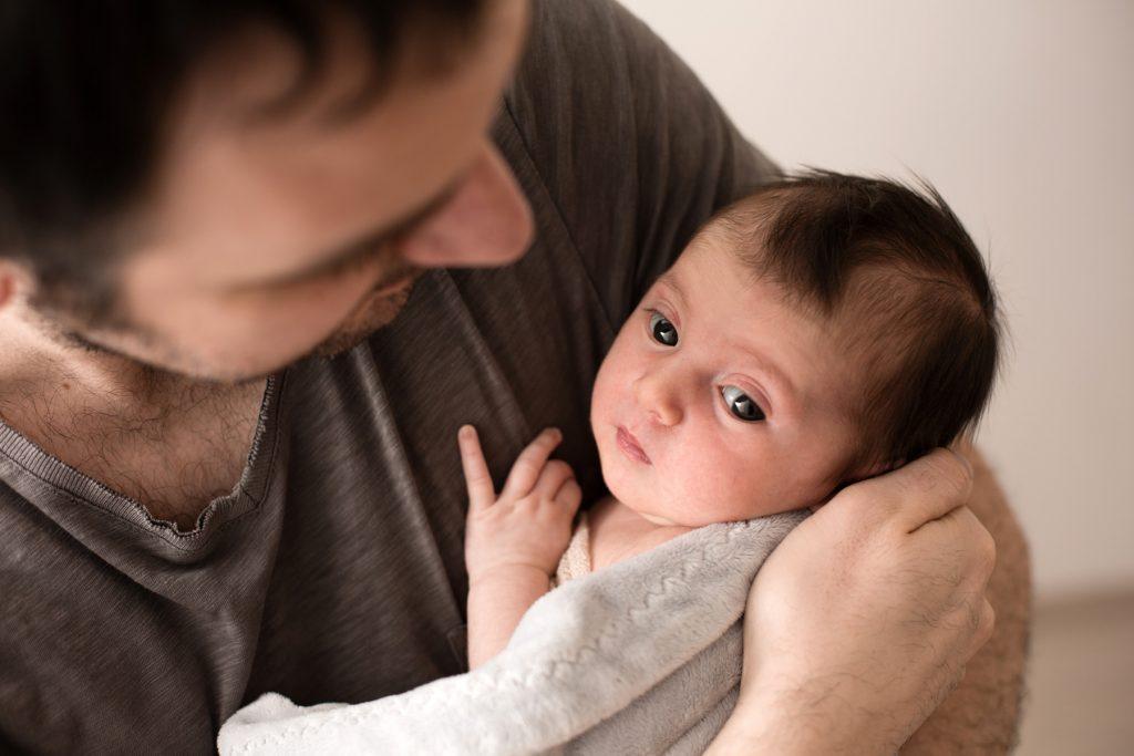 fotografia di neonata