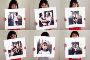 fotografie di famiglia per arredare casa