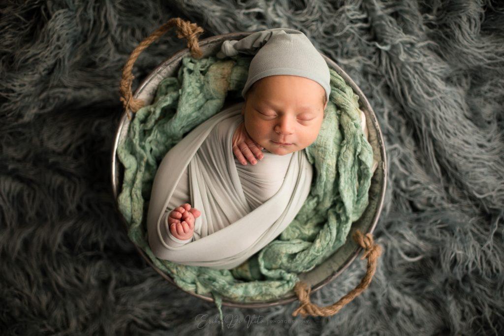 studio fotografico ritratto neonato