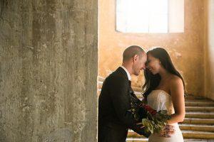 sposi matrimonio villa barbo