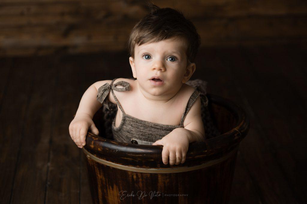 ritratto bambino in studio fotografico a milano
