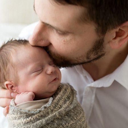Gabriele e il suo servizio fotografico Newborn