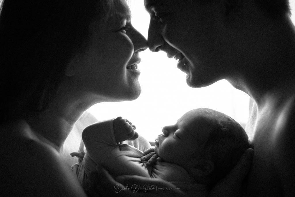 fotografo neonati e famiglia