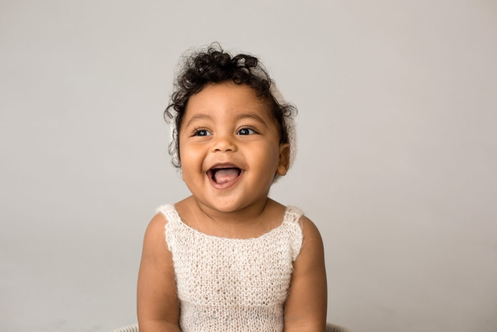 fotografo bambino sorride