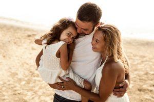 abbraccio in famiglia