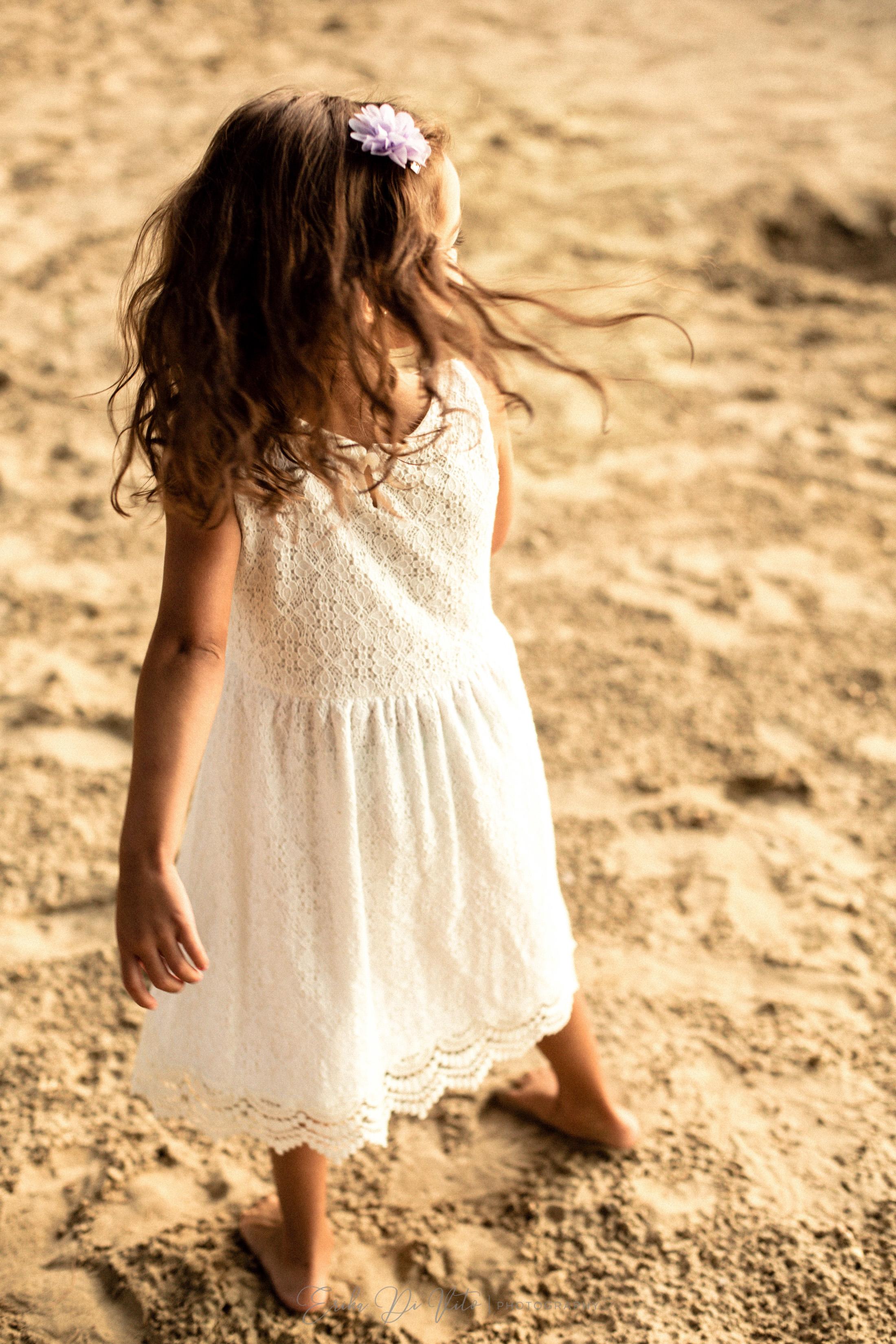 servizio fotografico bambina