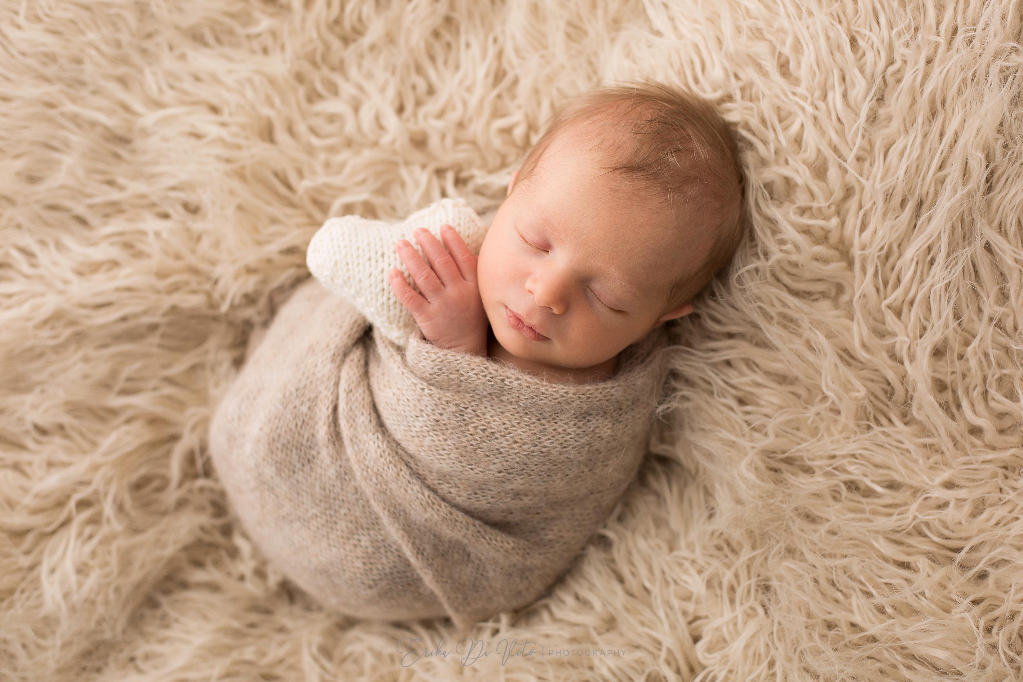 fotografie di bambino appena nato