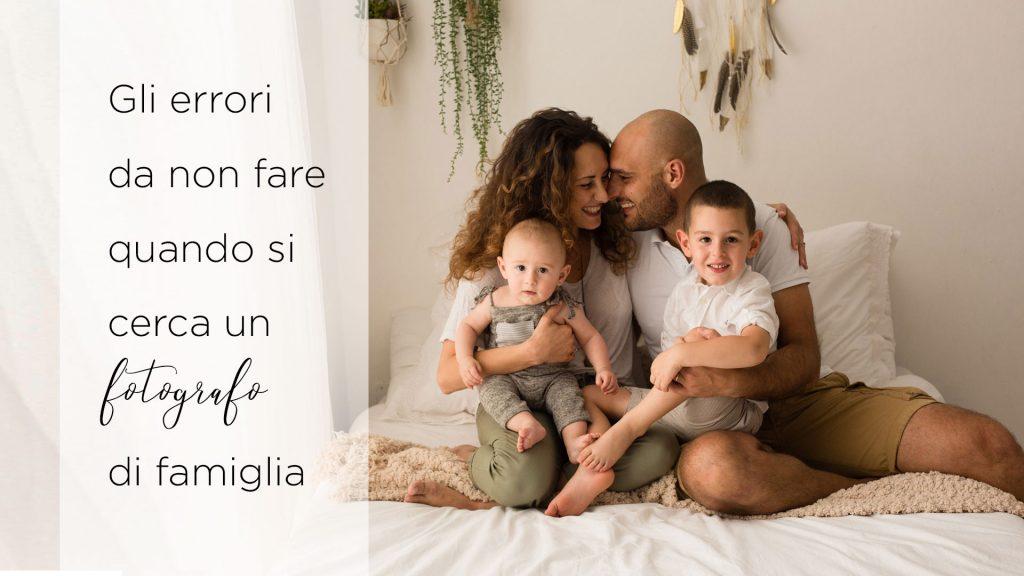 cercare il fotografo di famiglia più conveniente