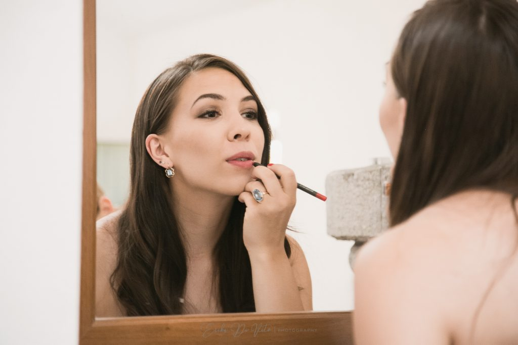 preparativi sposa rossetto