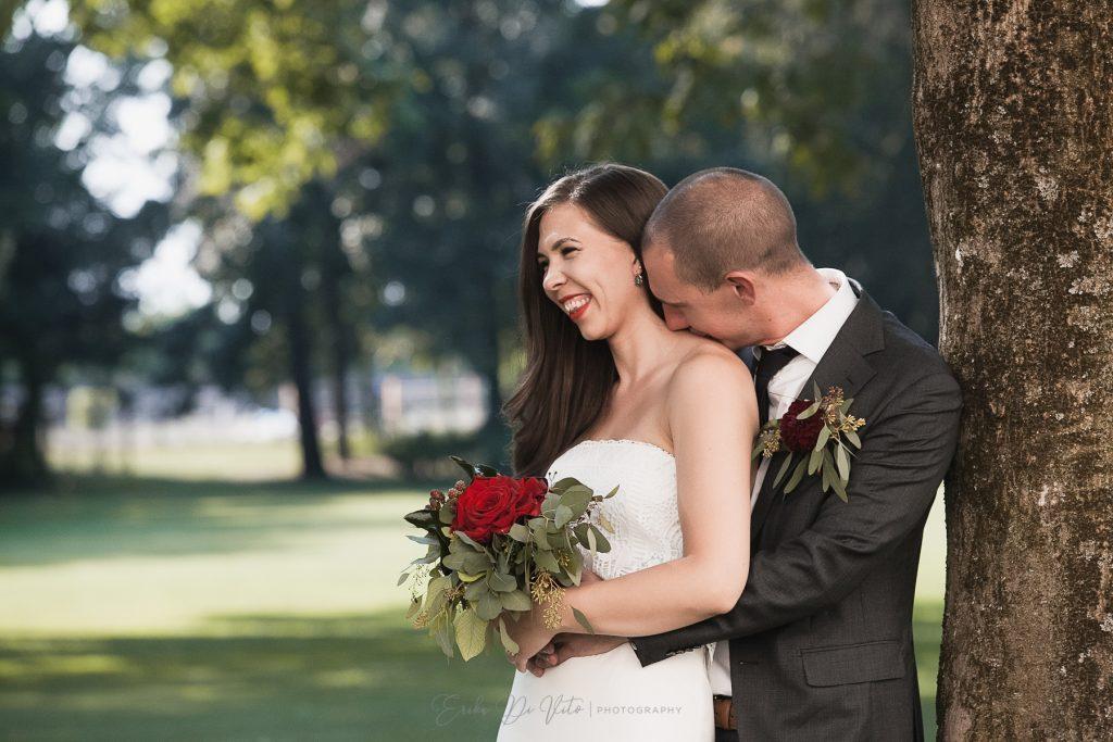 fotografia romantica sposi