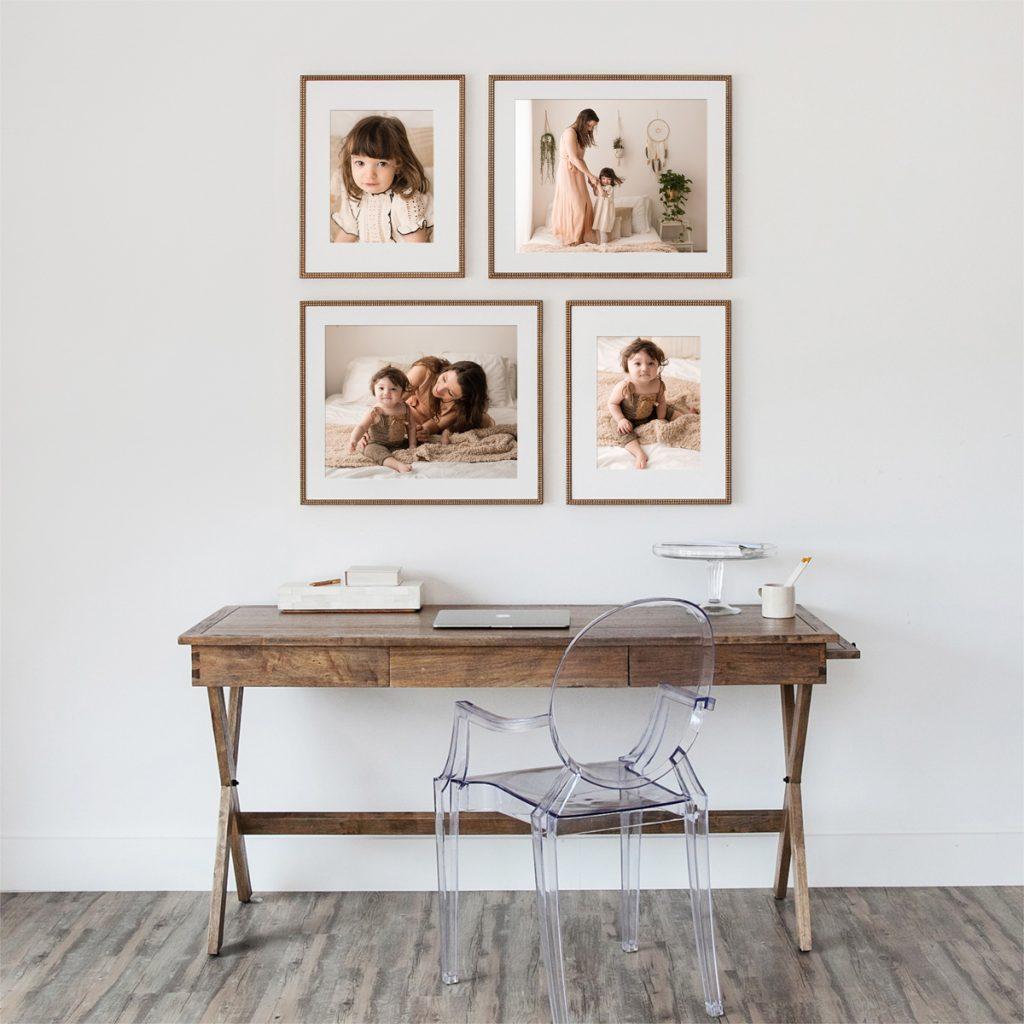 Fotografie di Famiglia Quadri per la casa