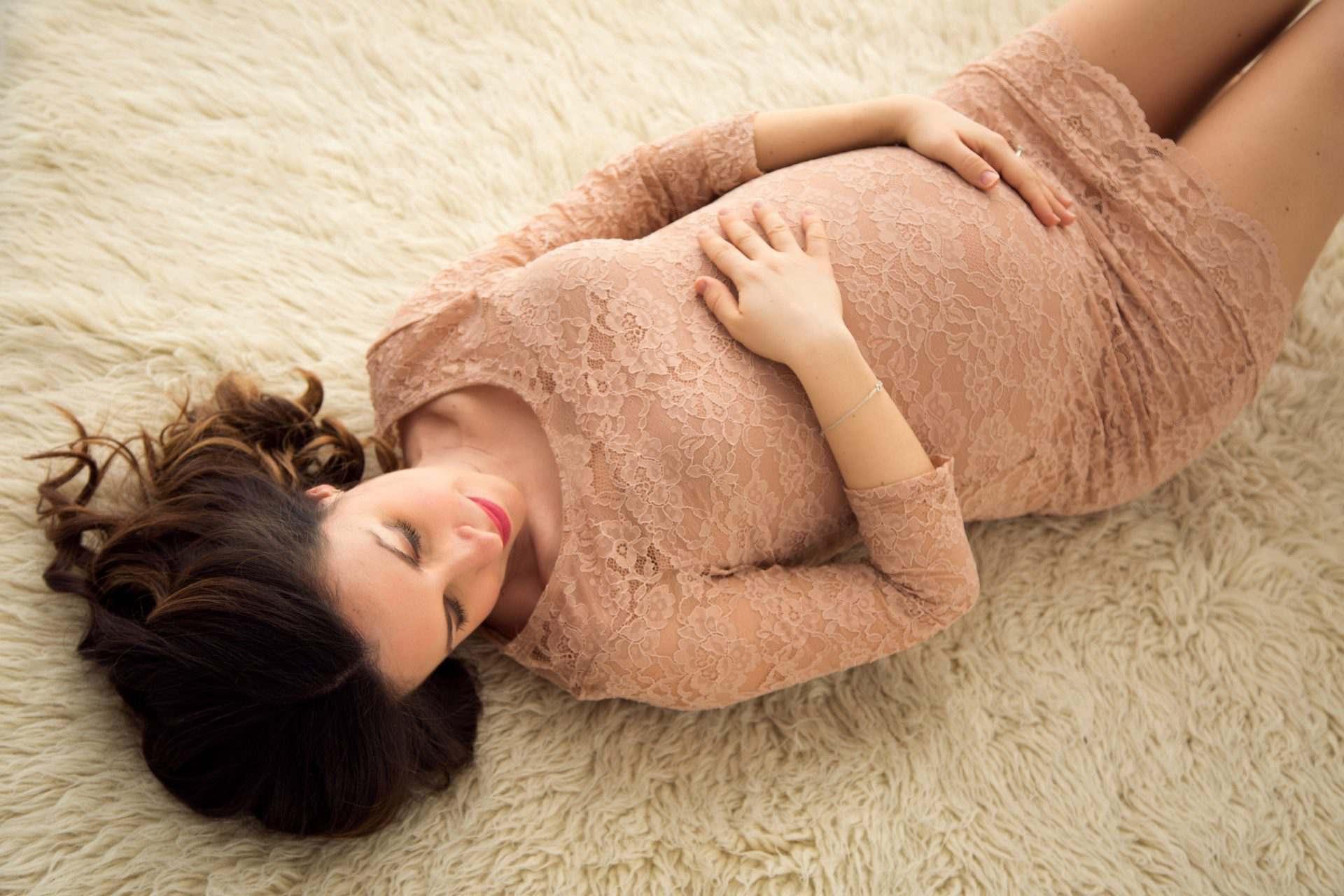 vestito foto gravidanza